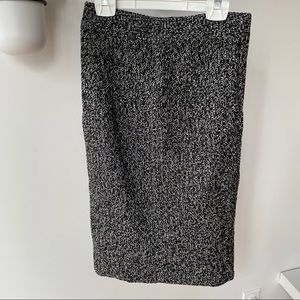 Grey marle knit skirt size small